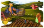 Ilustracija za decij