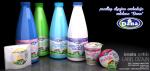 dizajn etiketa mleka