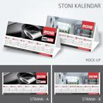 Dizajn stonog kalend