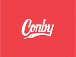 Corby lettering. Pro