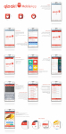 Flat design android