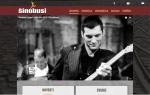 Web sajt urađen u k