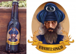 Indian beer bottle d