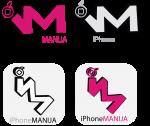 Logo za sajt iPhoneM