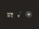Set bojenih ikoni, k