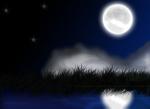 Grafika-mesečina