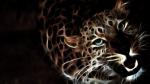 Glowing Leopard
