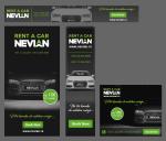 Nevian Rent a Car Beograd web baneri
