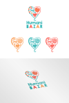 Humanitarni logo dizajn konkurs za Humani Bazar