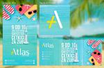 Letnji vizual za društvene mreže Atlas Stomatologija