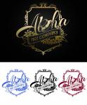 Aloha Hat Company Logo Design