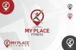 Logo za fitness studio