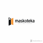 Logo za online prodavnicu maskoteka.rs