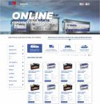 Akumulator.shop, dizajn za web sajt