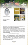 Dizajn sajta za Manastir Rača