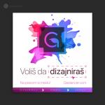 Dizajn Fb i Insta objave i promo maila