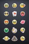 Emoji smileys za stampanje na proizvodima