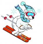 Logo za ski skolu