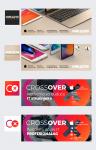 Dizajn vizuala za društvene mreže Macola i Crossover brendova