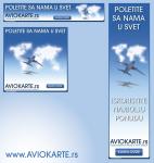 Baner za aviokarte.rs