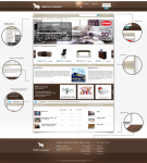Dizajn sajta www.svetnamestaja.com