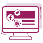 Društvene mreže COMBO paket dizajn brendiranje