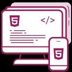 Custom websajt HTML + CSS + Responsive - Kompletno