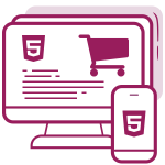 Custom eShop website HTML + CSS + Responsive - Completely custom made webiste with implemented eShop solution