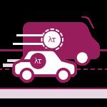 Brendiranje auta ili službenog vozila dizajn