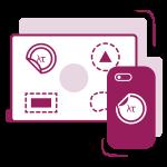 Brendiranje mobilnog telefona ili laptopa dizajn
